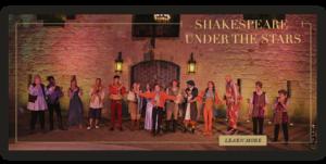 shakespeare under the stars